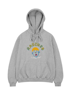 A Naughty Child hoodie gray