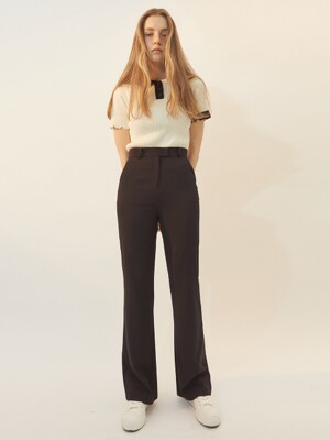[BREEZE] Three Sizes Slacks_BLACK (CTD1)