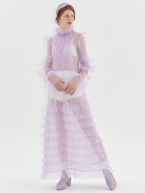 SNOW DRESS_PURPLE