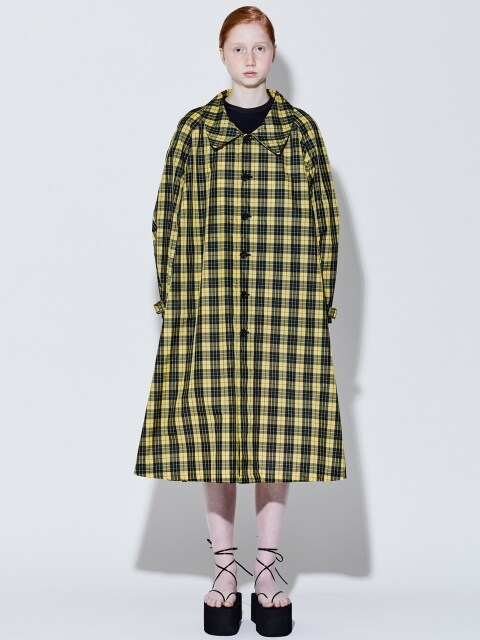 19SS FLARE SINGLE COAT (YELLOW CHECK)