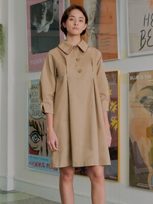 Piping Trench One-piece_beige