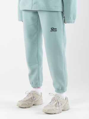 19WT Heavy Fleece Traning Pants (MINT)