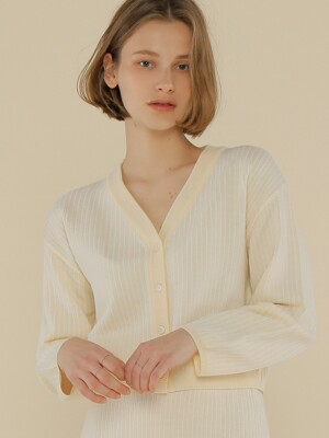 A STRIPE KNIT CD_IVORY