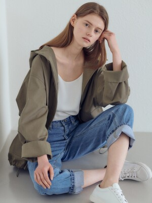 20SN Hoody crop field jacket [KA]