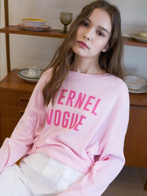 LS VOGUE T-SHIRT(PINK)