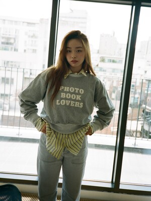 Photobook Lovers Sweatshirts - Boxer (Cropped)