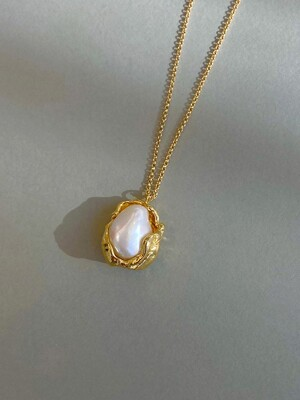 covered pearl Necklace. A type
