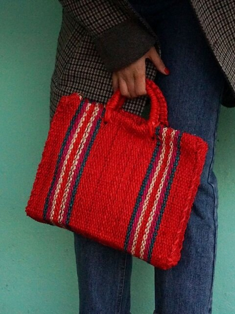 agave bag (holiday edition RED)