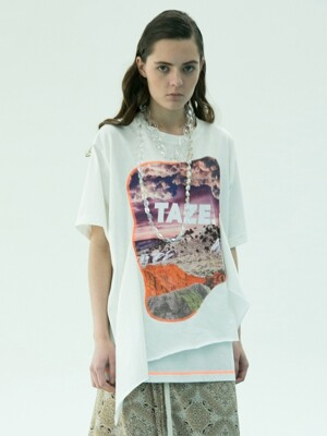 Elected Landscape Tee (White)