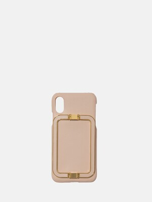 IPHONE X/XS CASE LINEY NUDE PINK