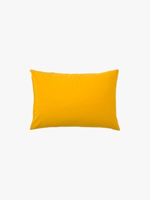 island pillow case - yellow