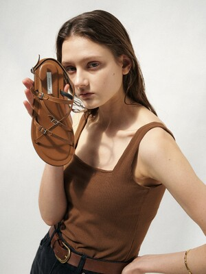 ana sandal - brown