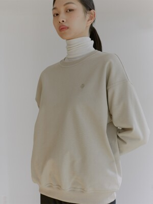 20W HEAVY WEIGHT SWEATSHIRTS (WARM BEIGE)