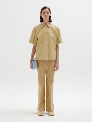 SOHO Flared Pants - Beige