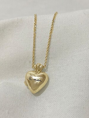 heart Secret Necklace