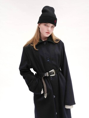 [UNISEX]RC CORDUROY COLLAR COAT
