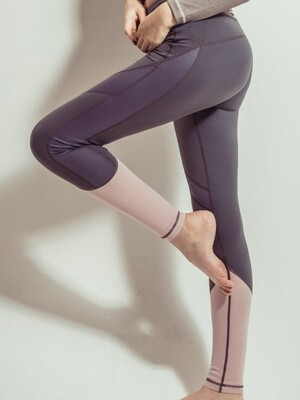 Cielo leggings_Gray&Pink