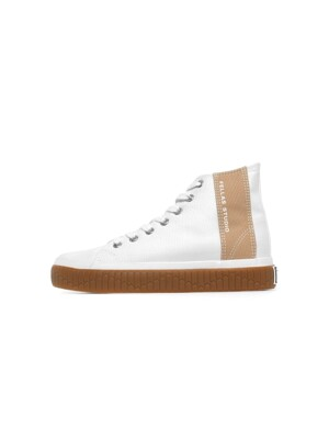 [Fellas Studio] Silhouette Hi White / Gum MEN