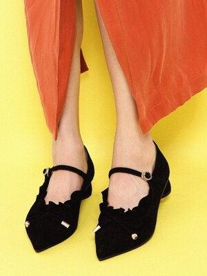 It`s Adorable Mary Jane Suede Black_0051