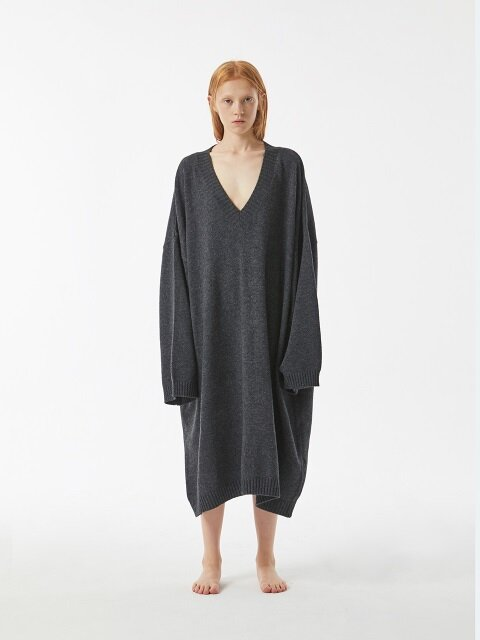 UNISEX AMU OVERSIZE KNIT ONE-PIECE