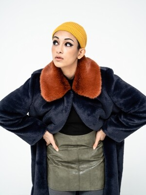 BRICK COLLAR ECO FUR