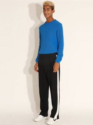 Side line Banding Track Pants_Navy