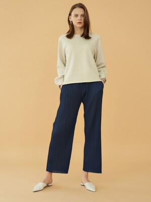 pleats flow pants (3colors)