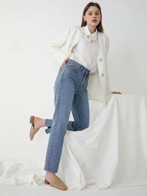 Straight slit DENIM SJ0SL036-22