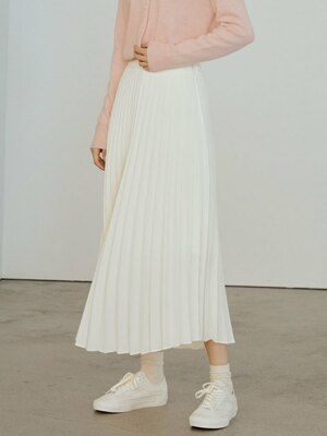 Cherish pleats long skirt