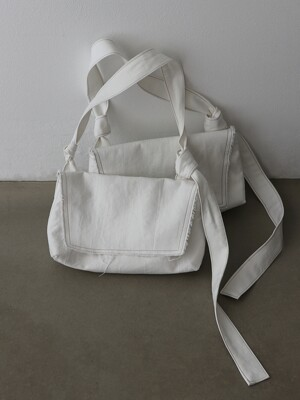 Knot Bag (Wide) Off white