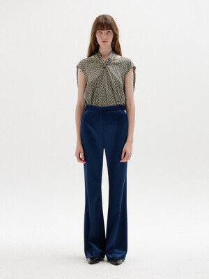 SOHO Flared Pants - Navy