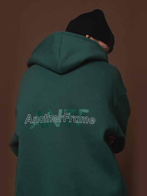 A.N.T.F HOOD ZIP-UP (GREEN)