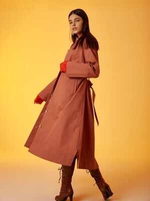 TRENCH COAT DRESS