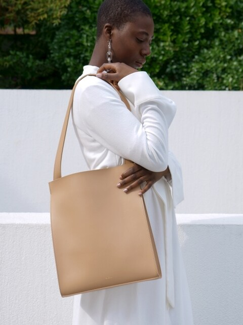 Shopper bag (beige)
