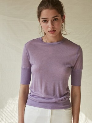 19SS Basic Knit_Purple