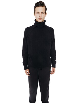 Lambswool Turtleneck_Black