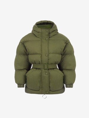 [WOMEN] 19FW MICHLIN GOOSE DOWN JACKET OLIVE