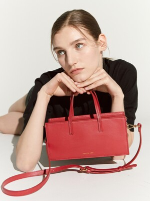 Lago mini bag - red