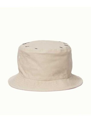 [리퍼브 상품]TNP SFT CIRCLE REVERSIBLE BUCKET - BEIGE