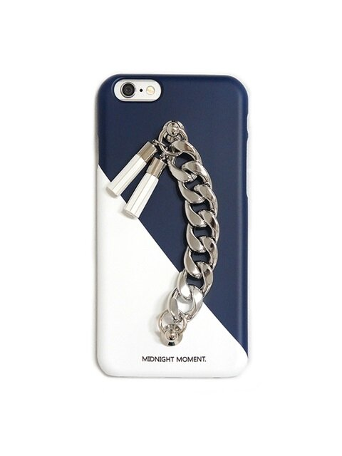 white navy tassel case