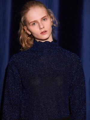 GL TURTLENECK(BLUE)