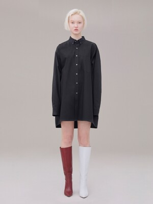 Long shirt 001 Black