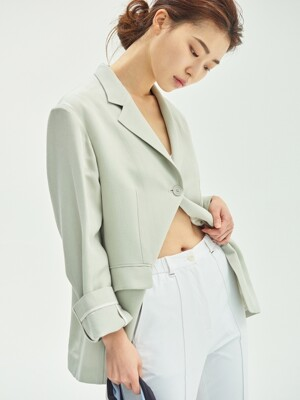 Essential Light Jacket - Khaki Oatmeal