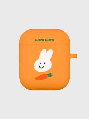 Rabbit carrot-orange(Air Pods)