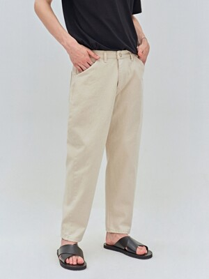 ALL DAY COTTON PANTS_CREAM