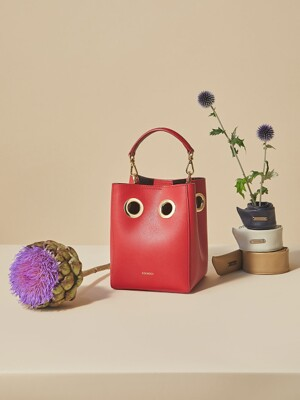 Mini Nana Bag (Red+Black)