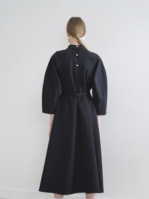 19FW BELTED DRESS_NY