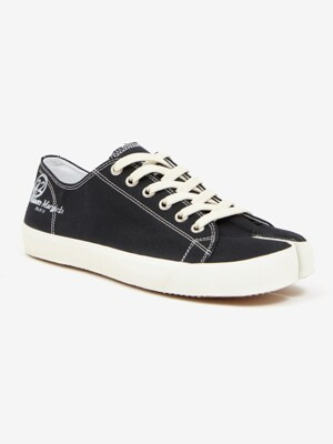 [PRE-ORDER] 20SS TABI COTTON SNEAKER LOW BLACK S57WS0252_P1875_T8013