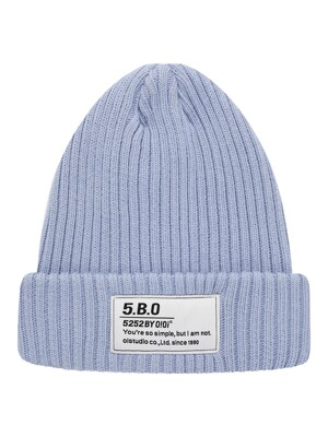TAG LABEL BEANIE [LIGHT PURPLE]