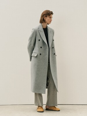 BASIC DOUBLE COAT - 3COLOR